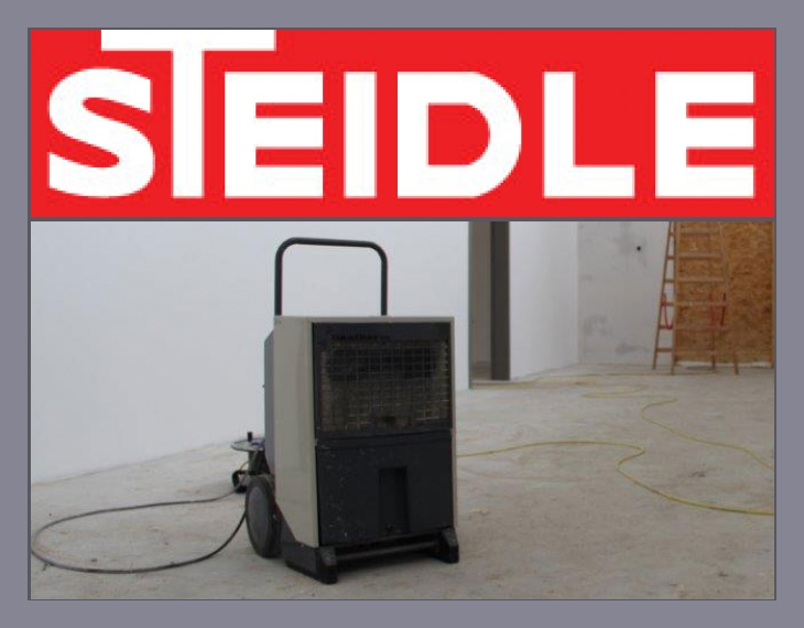 Steidle Bautrockner-Vermietung  Wesel, Hamminkeln, Bocholt, Dorsten