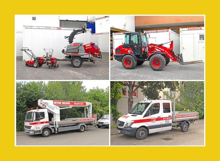 Kauf Mietpark Service Engelhardt GmbH  Baumaschinen  Stuttgart, Fellbach, Waiblingen