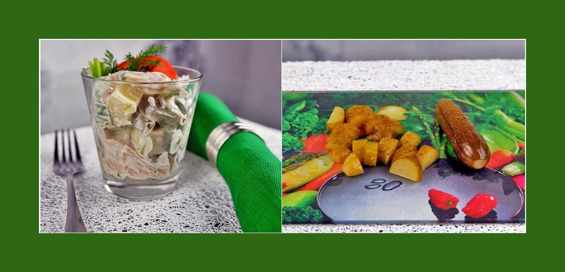 Salat Hähnchen Gurken