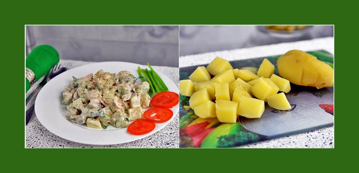 Gurkensalat Kartoffelsalt