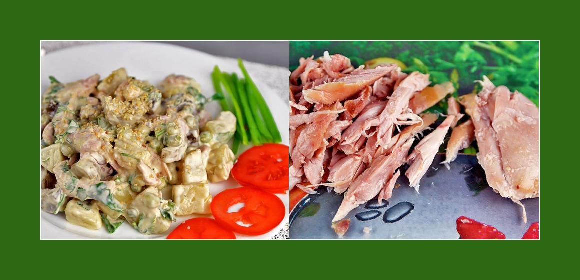 Hähnchensalat Kartoffelsalt