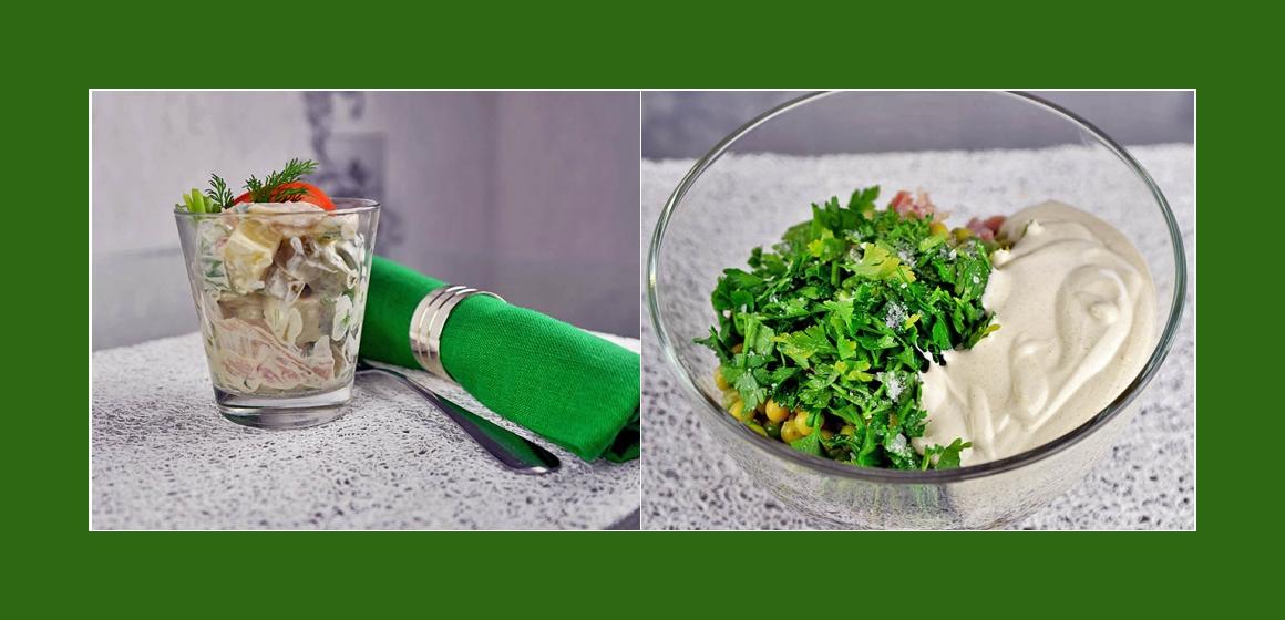 Gemüsesalat  Kartoffelsalat Gurkensalat