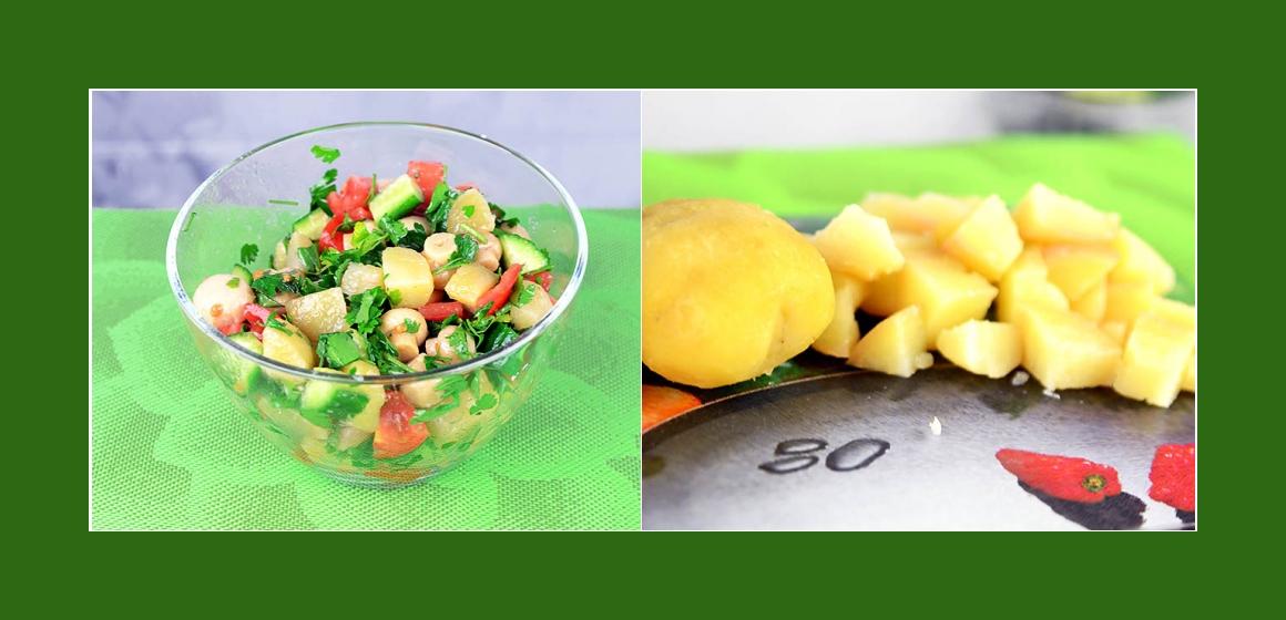 Gemüsesalat Gurkensalat