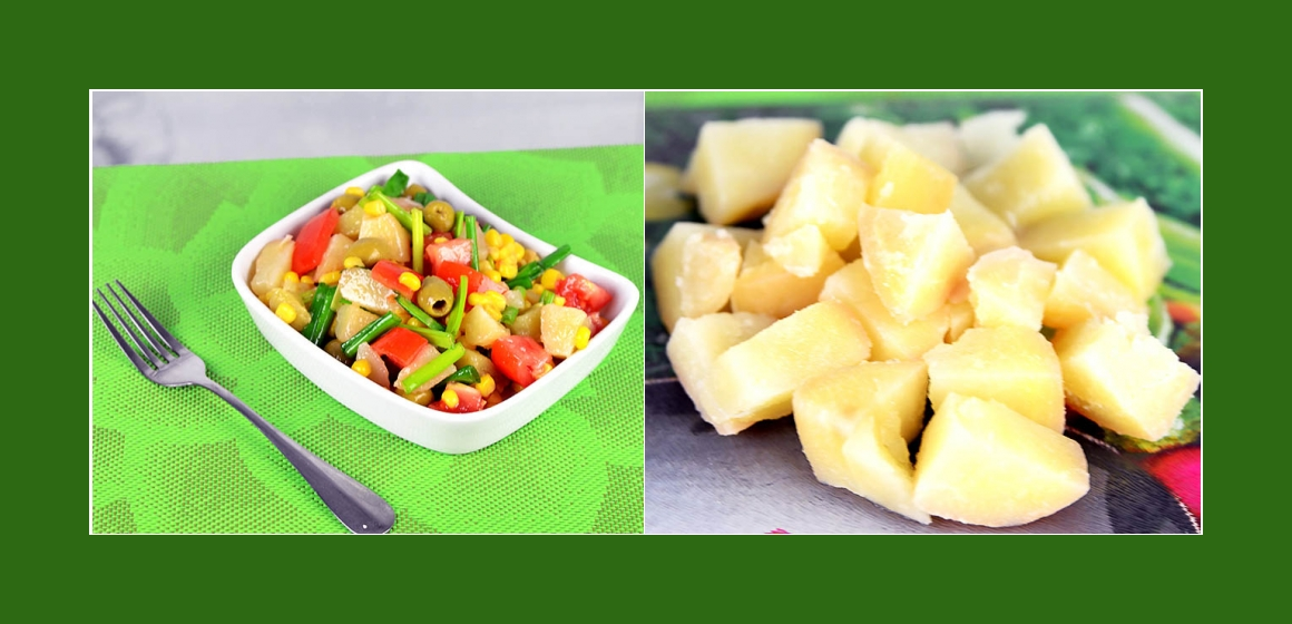 Salat Oliven Mais