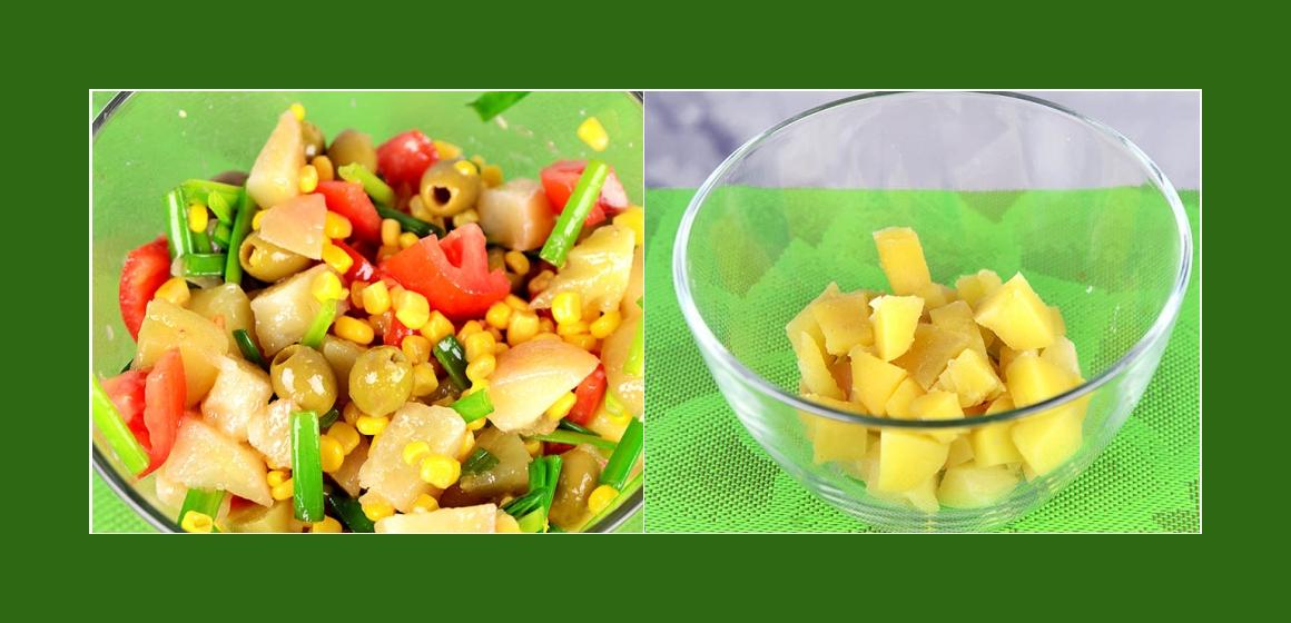 Gemüsesalat Kartoffelsalat