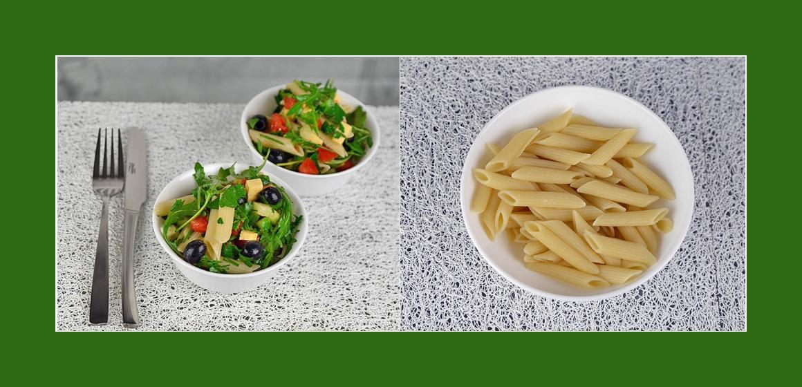 einfacher Salat mit Käse