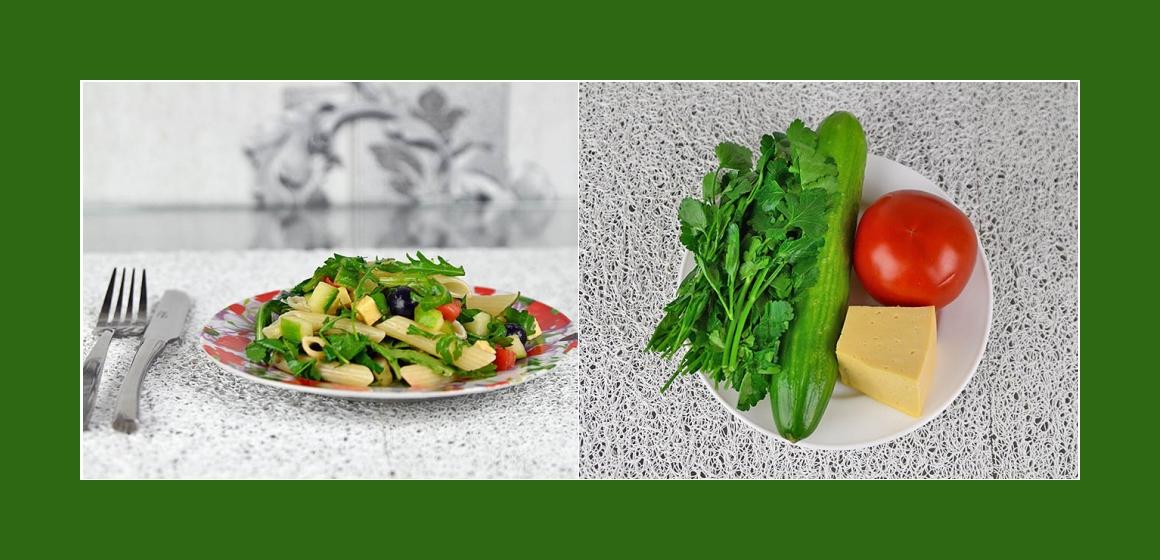 Gemüsesalat Gurken-Tomaten-Salat