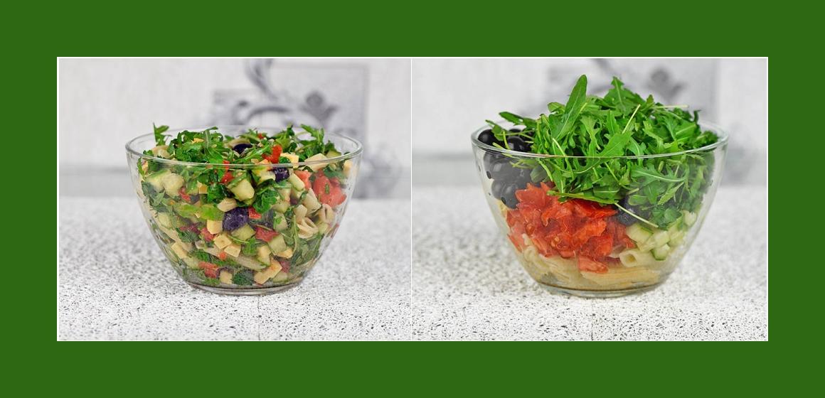 gemischter einfacher Salat