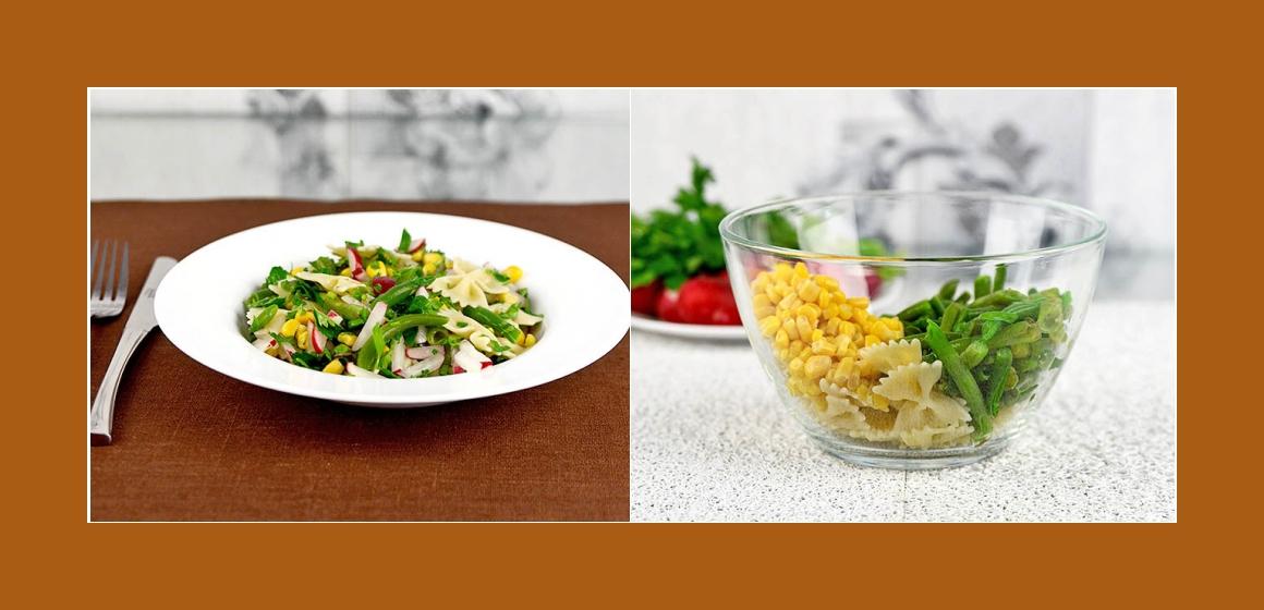 Gemüsesalat Bohnen-Salat