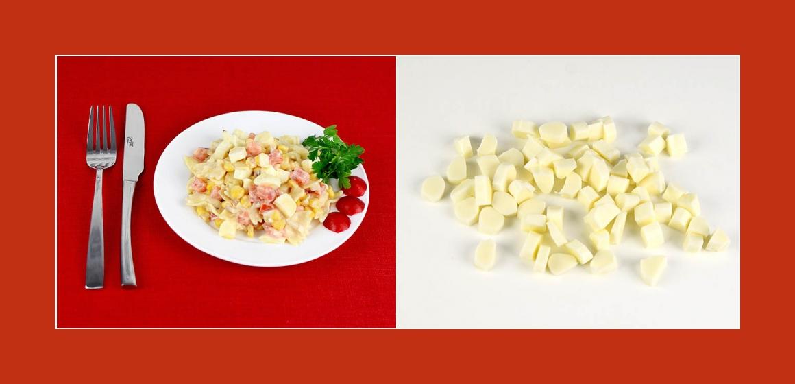 Käse-Tomaten Salat