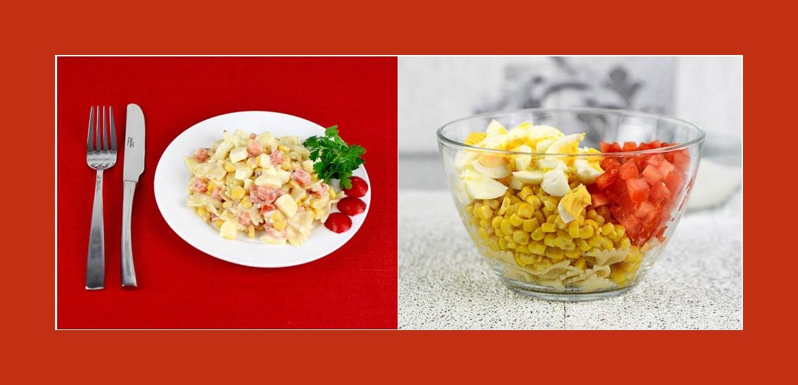 Käse-Eiern-Salat Sommersalat