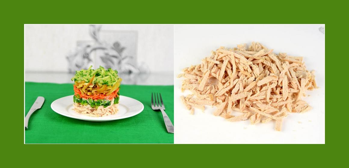leckerer Salat Hähnchensalat