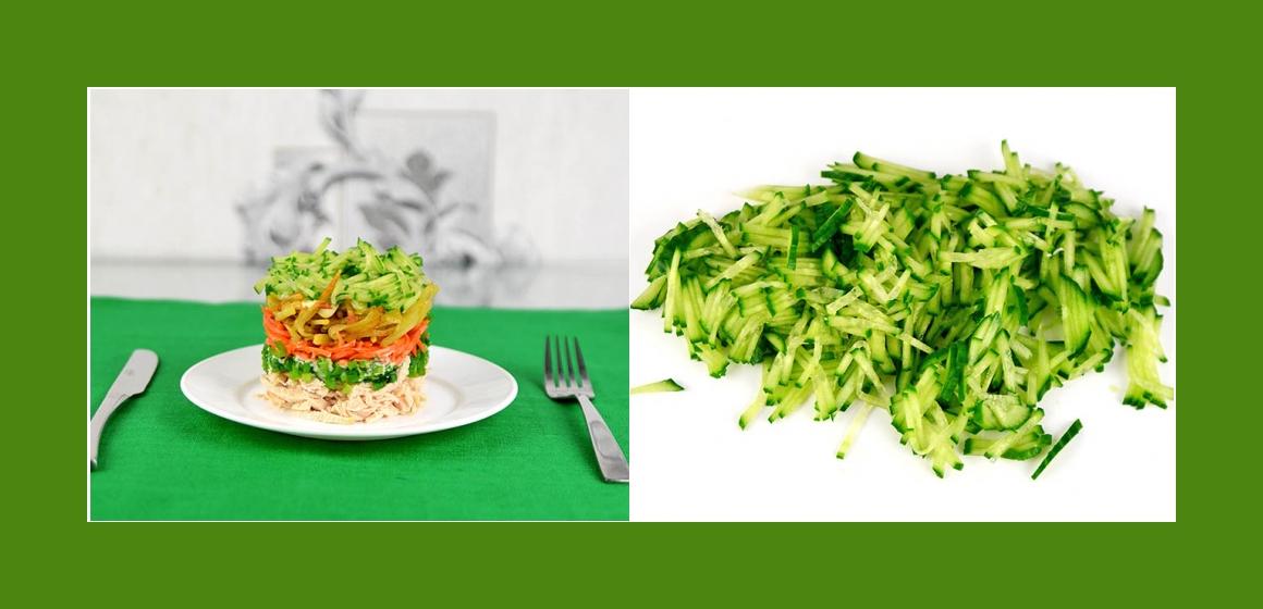 Gurken-Möhren Salat