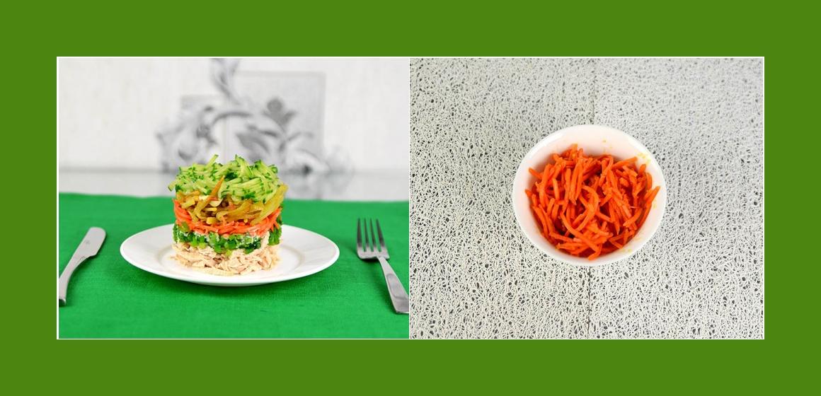 Möhren Salat Kartoffelsalat