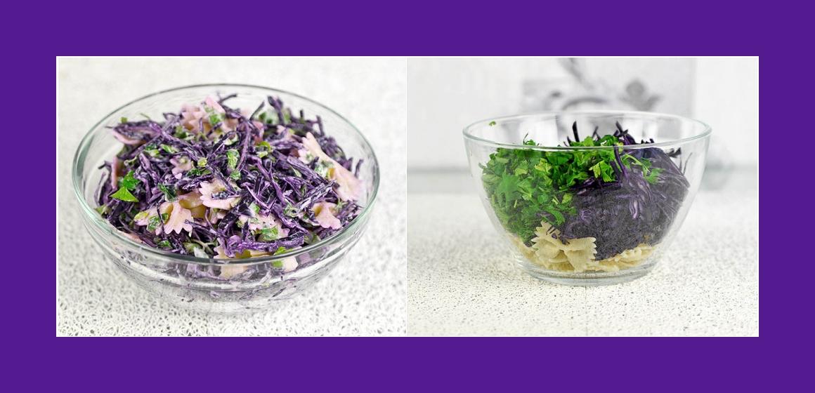 Sommersalat gemischter Salat