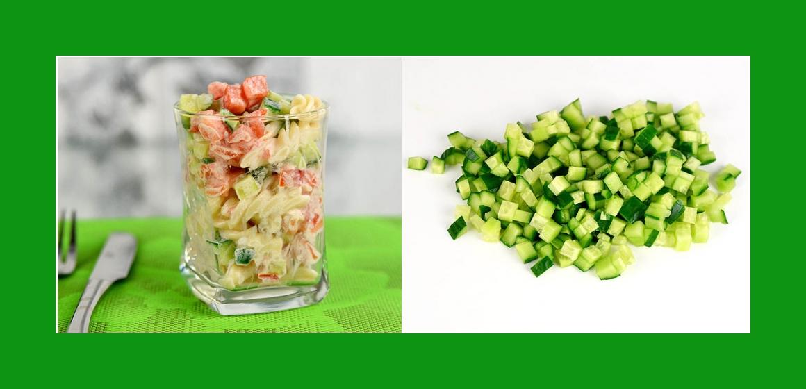 Gurkensalat Gemüsesalat