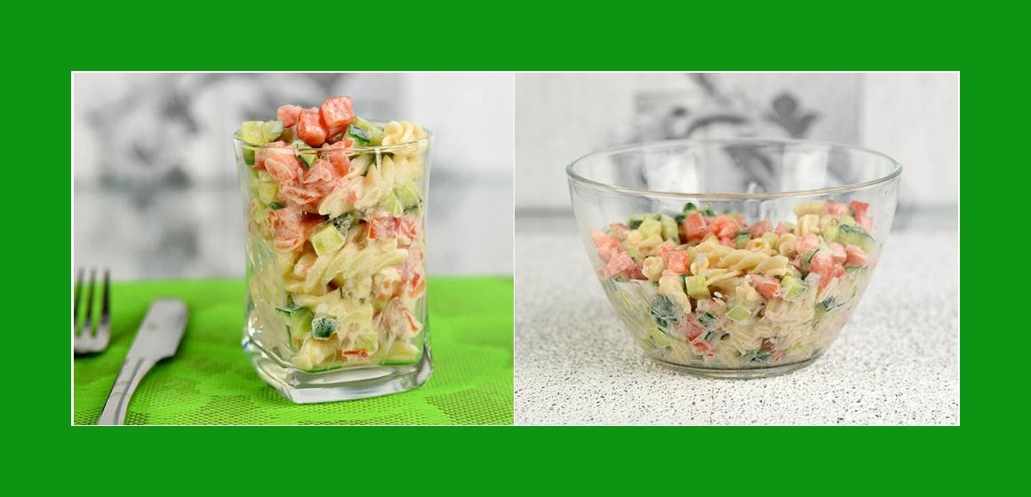 gemischter Salat Tomatensalat Nudelsalat