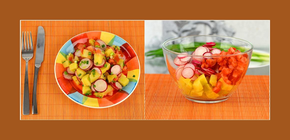 bunter Salat gemischter Salat