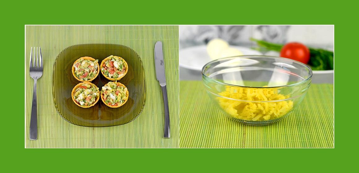 gemischter Salat Kartoffel-Eier-Salat