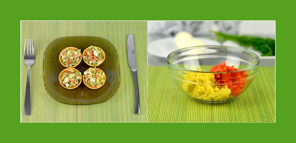 leichter Salat bunter Salat