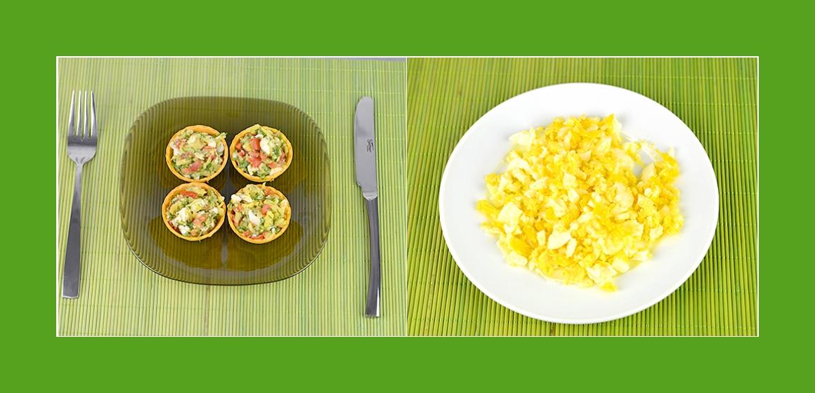 Eier-Tomaten-Kartoffelsalat