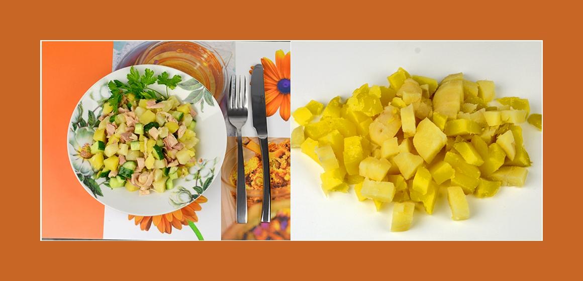 Kartoffelsalat mit Eiern