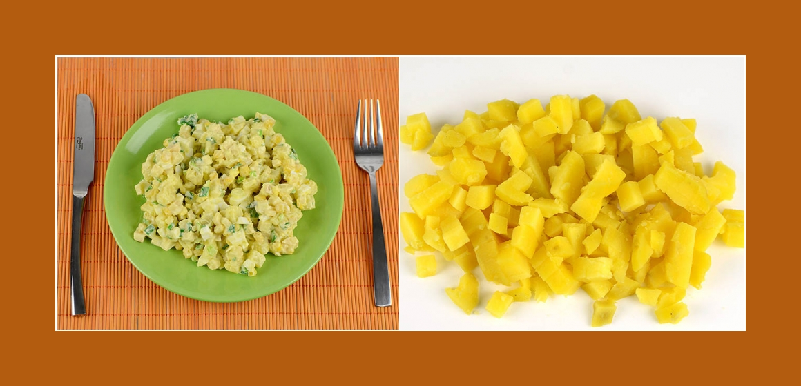 Kartoffelsalat einfacher Salat