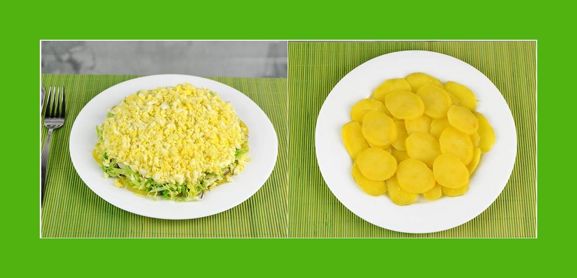 Kartoffelsalat, Gemüsesalat