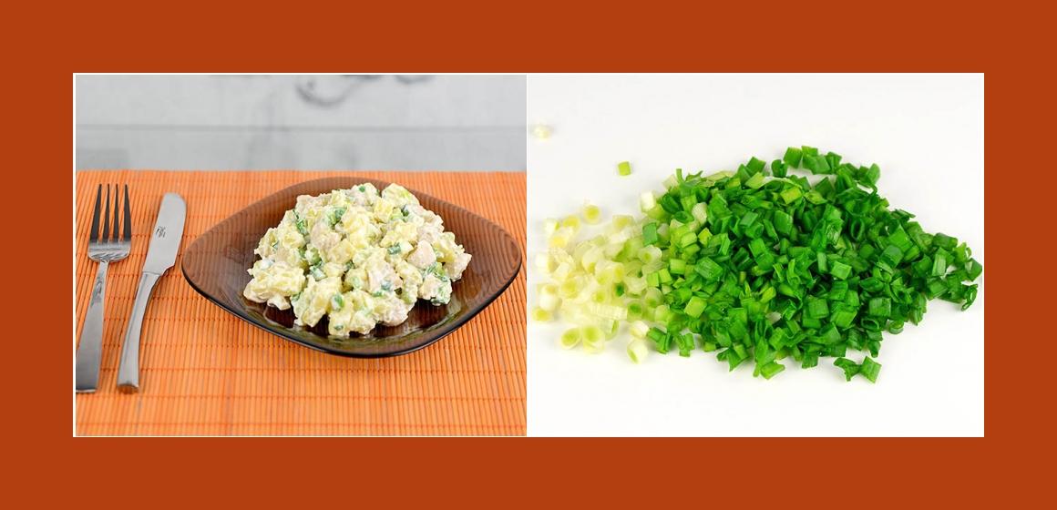 Sommersalat mit Schnittlauch Salat Kalorien