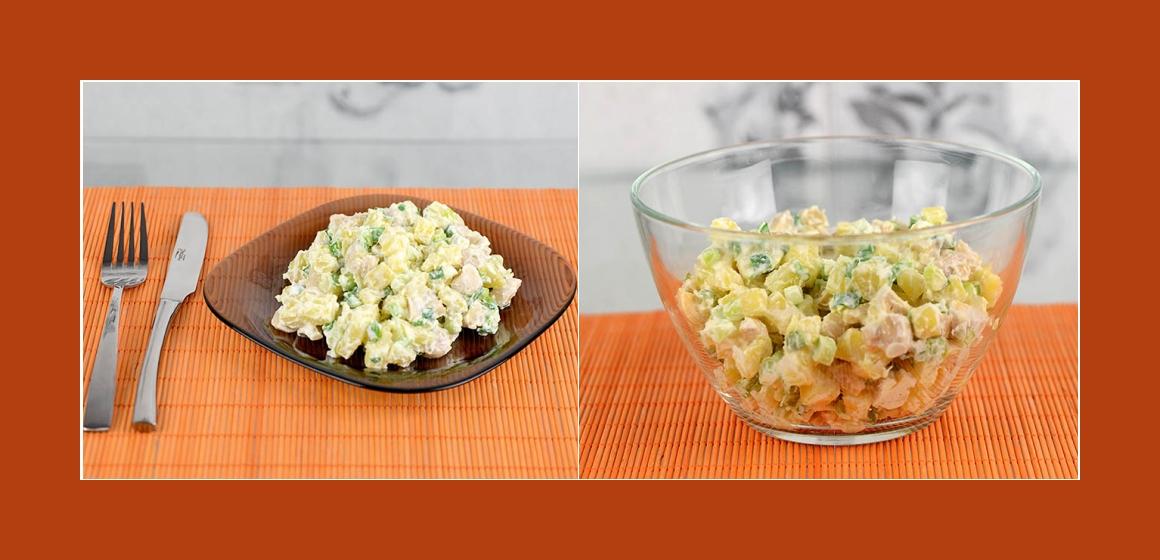 leckerer Kartoffel-Schnitttlauch Salat