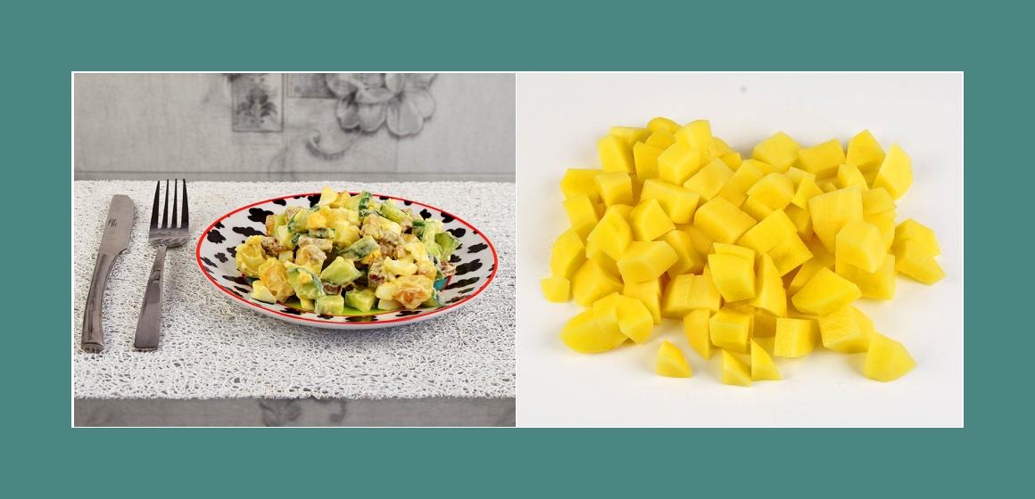 Kartoffelsalat gemischter Salat Rezept