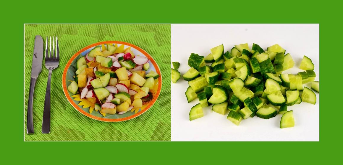 leichter Salat Kalorien einfacher Salat