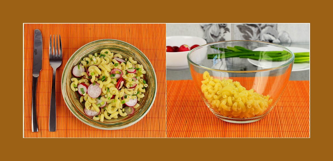 Salat Rezept rasanter Salat