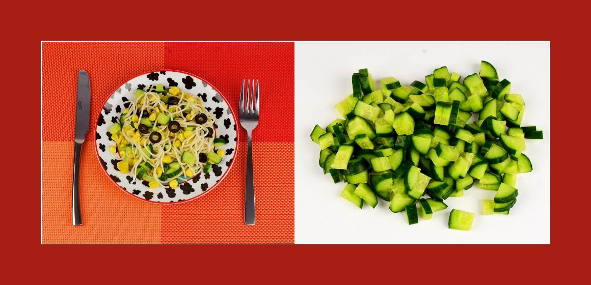 Nudelsalat leckerer Salat