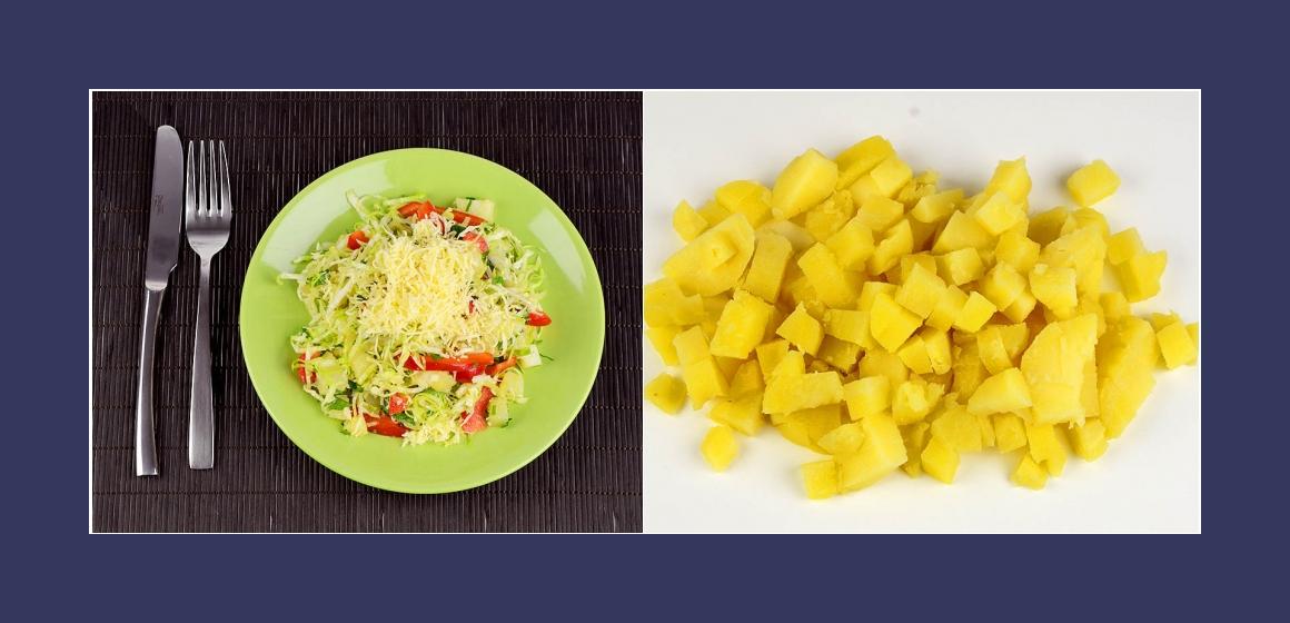 gemischter Kartoffelsalat