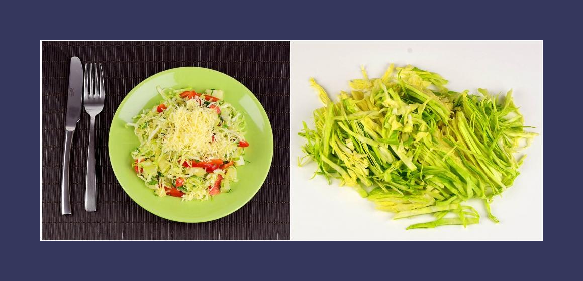 Gemüsesalat vegetarischer Salat