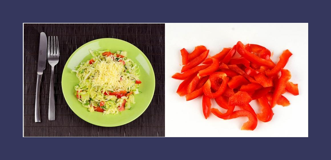 Gemüsasalat Salat Rezept