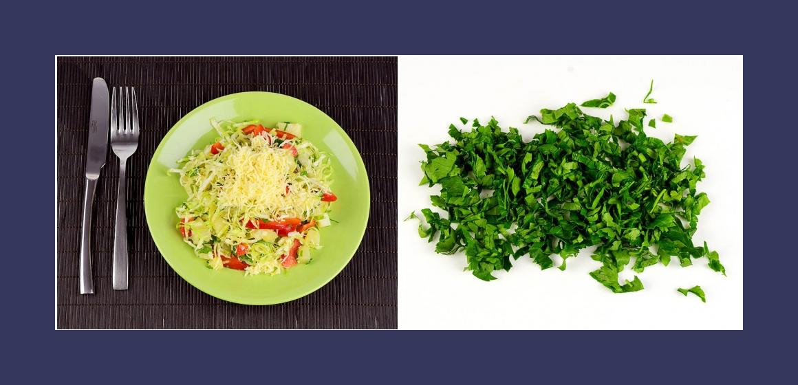 leckerer Salat Gemüsesalat