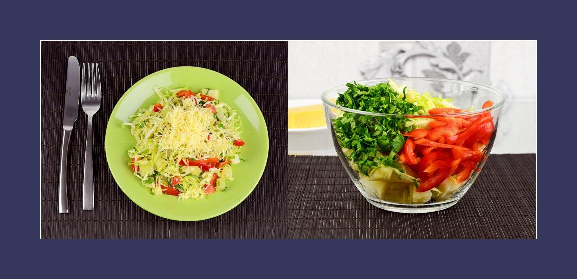 Sommersalat Salat zum Grillen