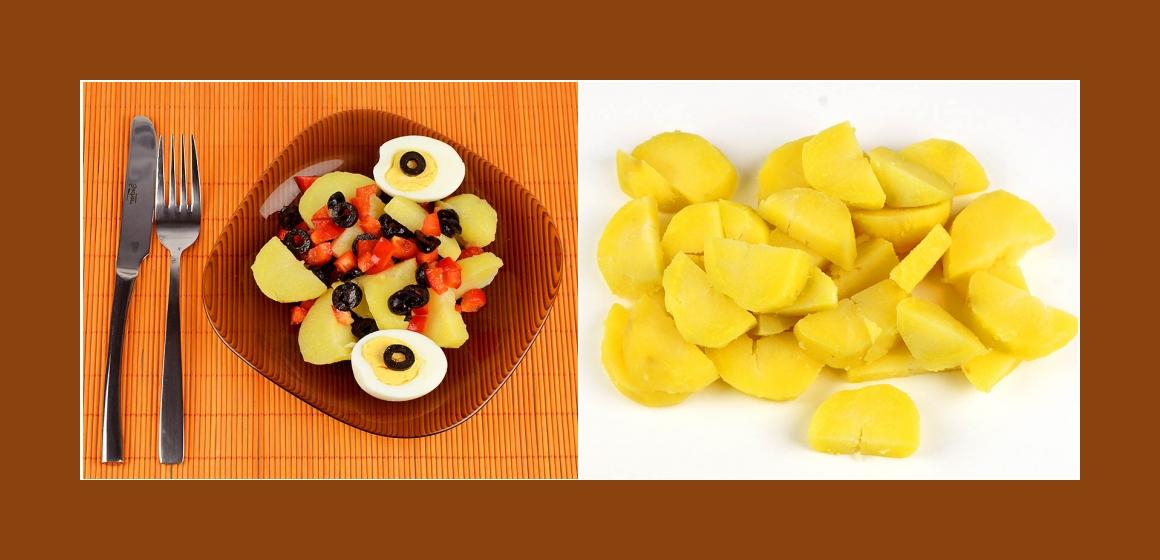 Gemüsesalat einfacher Salat