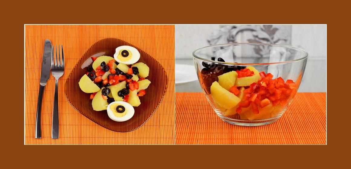 einfacher Salat Salat Kalorien
