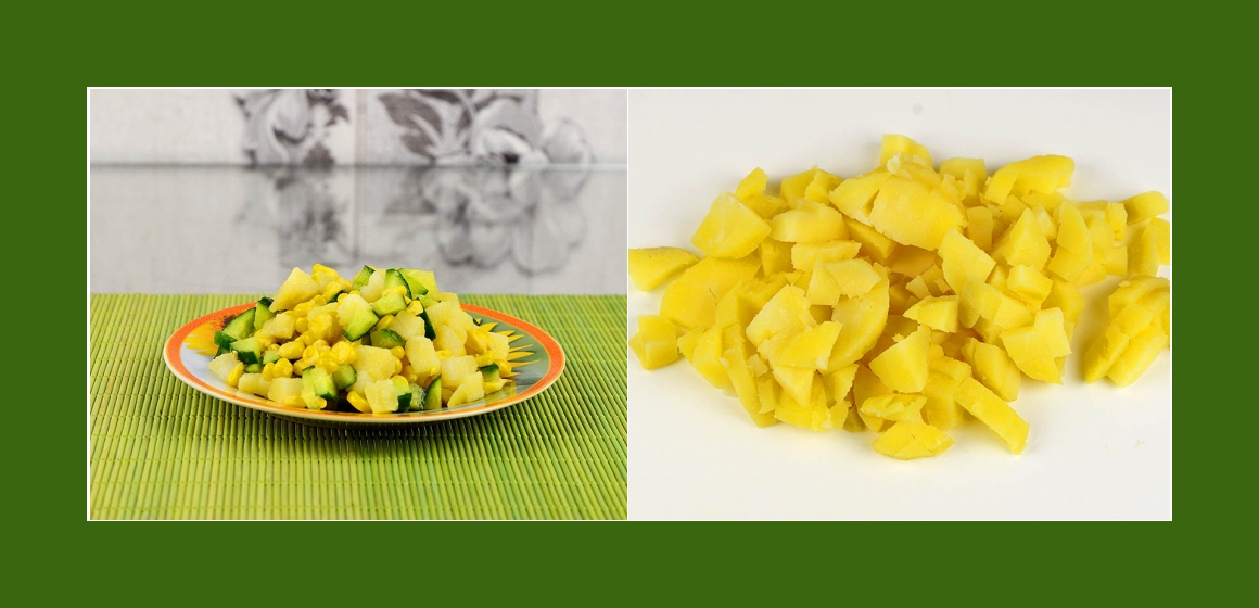 einfacher Salat Kartoffelsalat