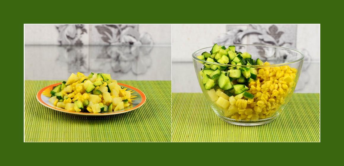 einfacher Gemüsesalat Rezept