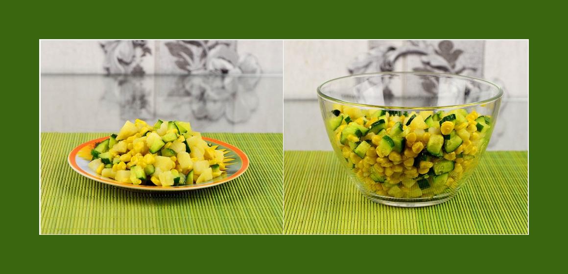 gemischter Salat vegetarischer Salat