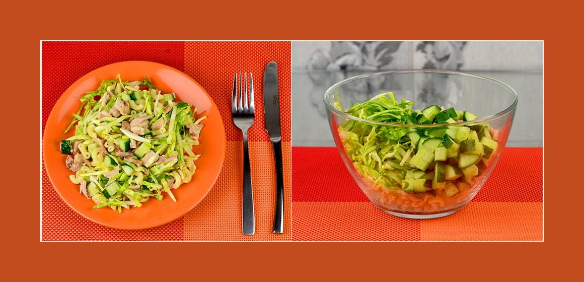 gemischter Salat herzhafter Salat