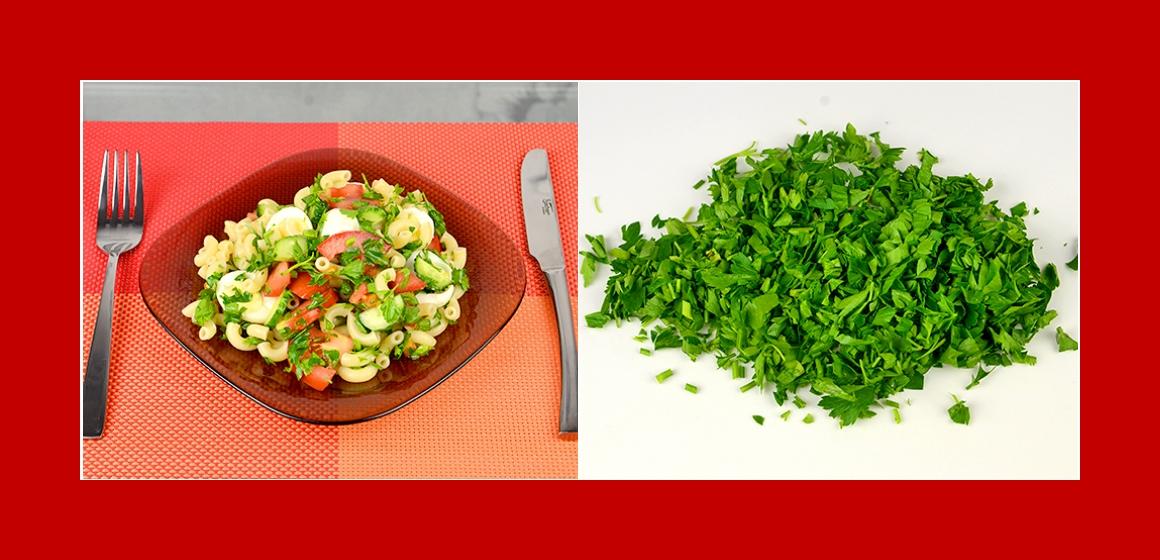schmackhafter Salat einfacher Salat