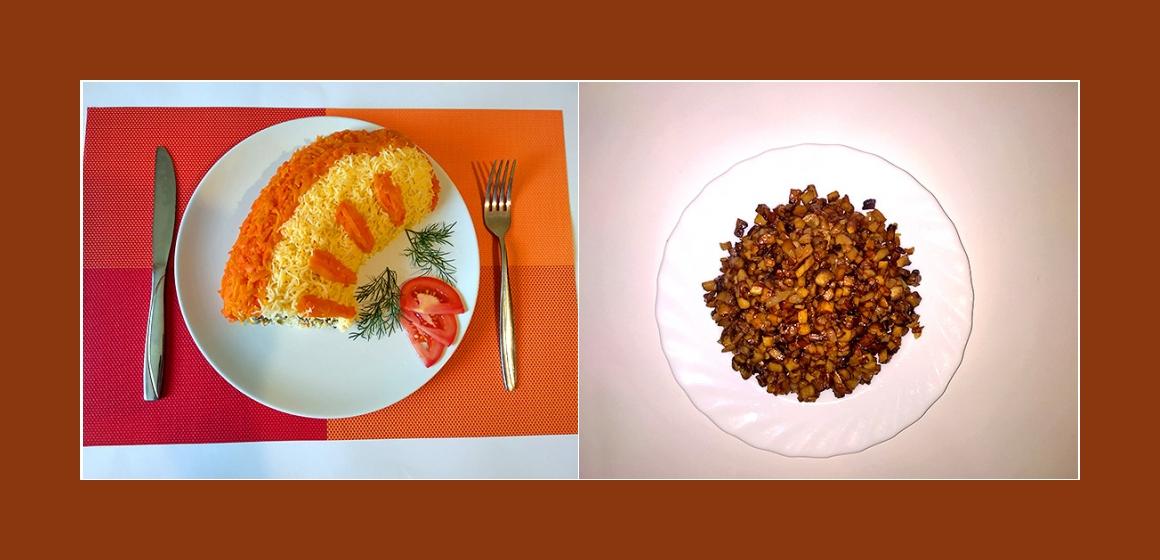 Pilzsalat Schichtsalat