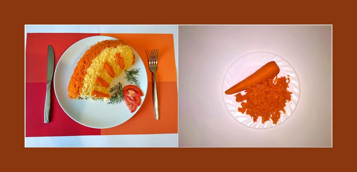 Möhren-Pilzsalat