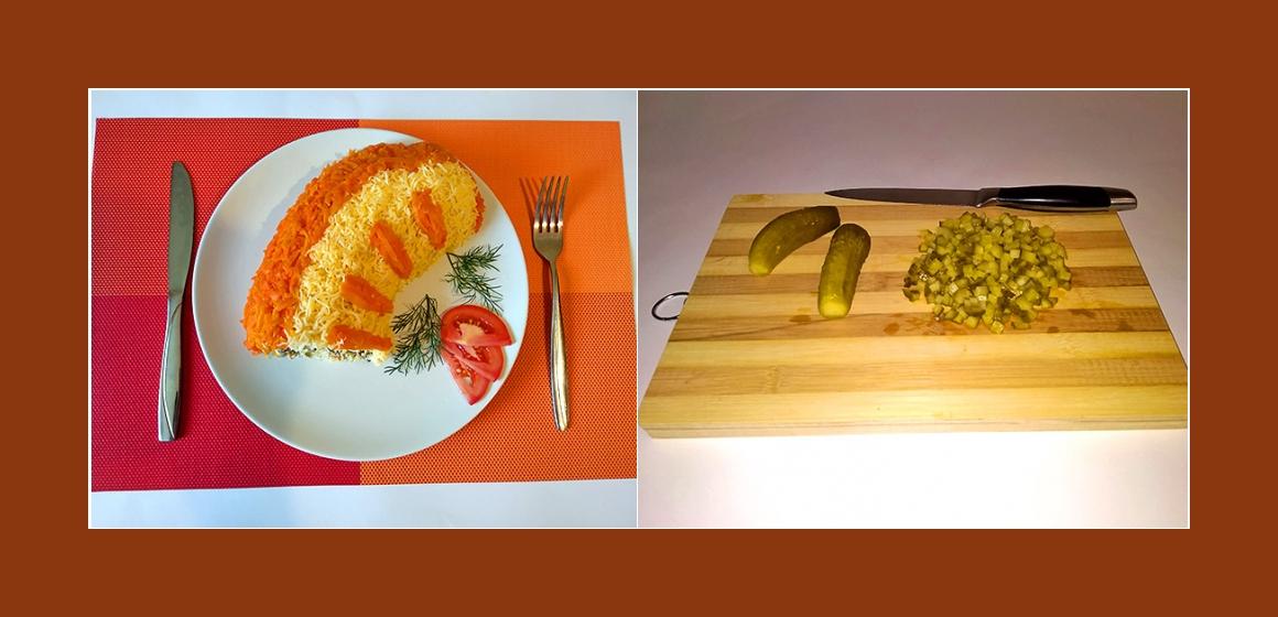 Gurken-Möhrensalat