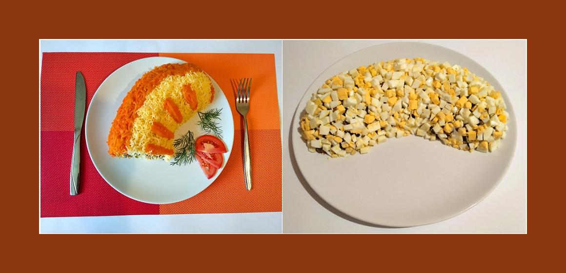 Eier-Pilzsalat